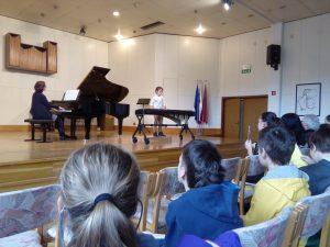 21. 3. 2017 – Obisk Glasbene šole Postojna – 3. in 5. r
