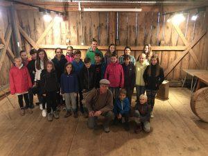 12. 9. 2017 – Nadarjeni učenci obiskali Planinski Muzej v Mojstrani