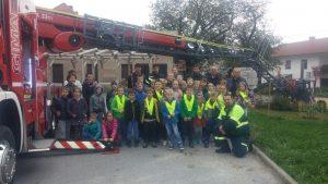 3. 10. 2017 – Požarna vaja na podružnični šoli v Bukovju