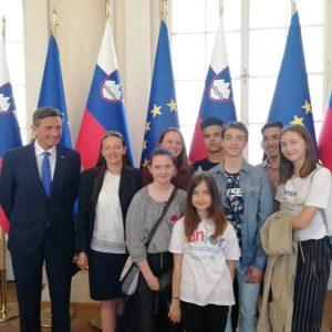 9. 5. 2018 – Obisk pri predsedniku države