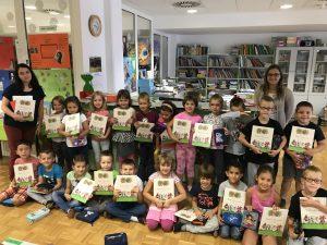 17. 9. 2018 – Začetek bralne značke v šolski knjižnici