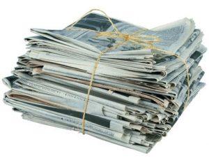 23. in 24. 4. 2019 – Zbiralna akcija starega papirja