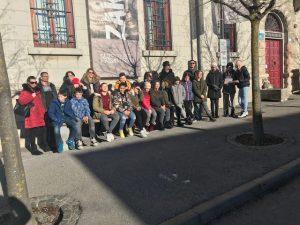 6. 2. 2020 – Učenci iz Supetarja na kulturni poti po Postojni