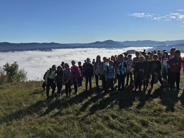 8. 10. 2020: ŠD / 5. razred –  Pohod PLANINSKA GORA