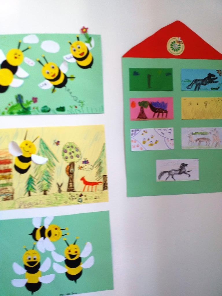 20. 5. 2021 – Učenci podaljšanega bivanja podružnične šole v Studenem obeležili mednarodni dan čebel